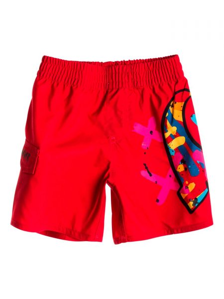 AQIJV00033-Bañador-Quiksilver-Top-It-Baby-Rojo