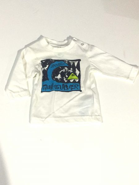 KTFJE933 Camiseta Baby Bone Quiksilver