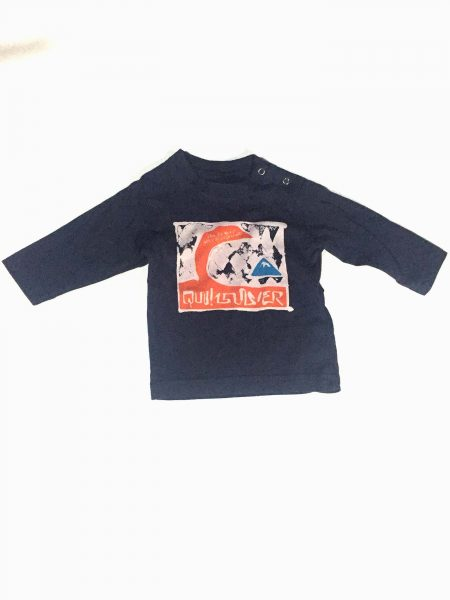 KTFJE933 Camiseta Baby Navy Quiksilver