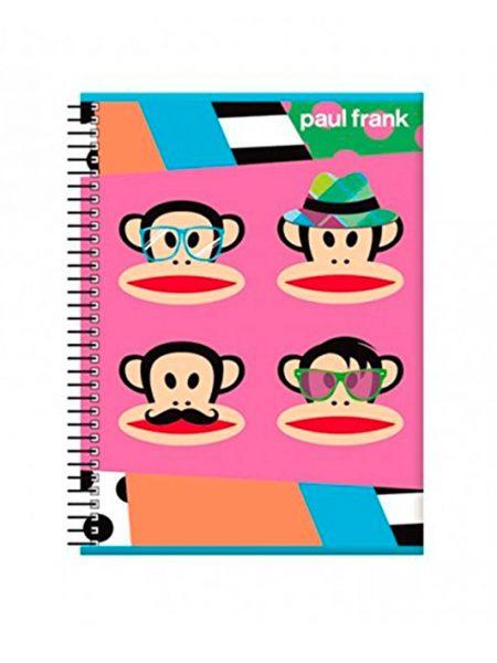 Libreta A4 Paul Frank 63104
