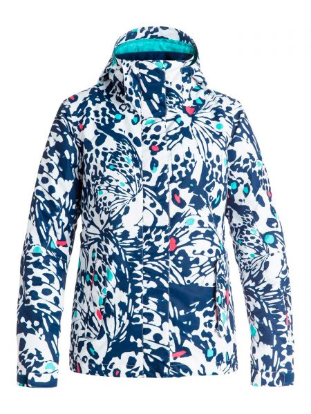 ERJTJ03055 Roxy Jetty Jacket White