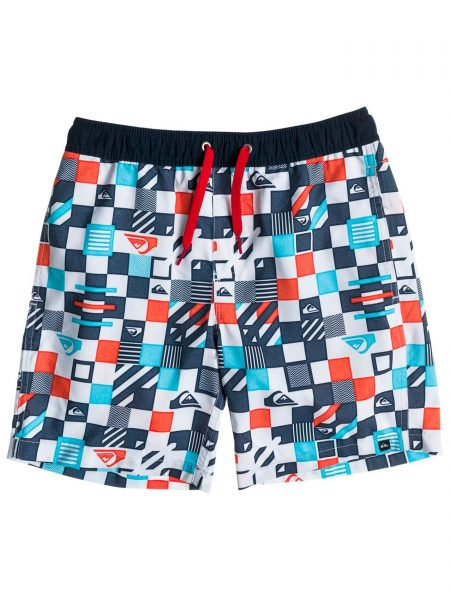 AQBJV03008 Bañador Checkered VI Quiksilver White