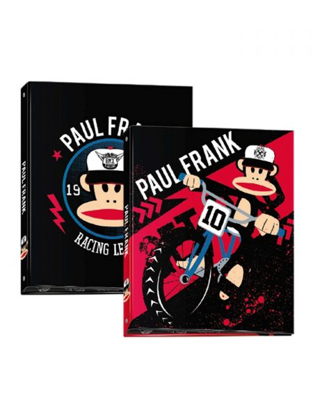 Carpeta 4Anillas Paul Frank 600169