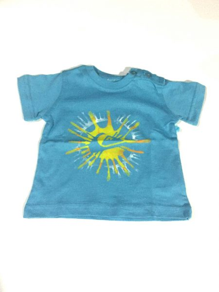 KIFJE923 Camiseta Sol Baby Blue Quiksilver