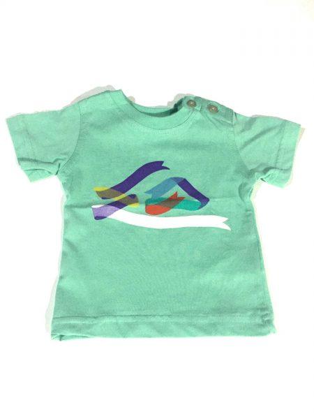 KIFJE923 Camiseta Baby Sea Foam Quiksilver