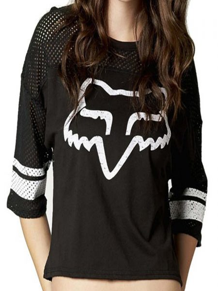 13505-001 CAMISETA FOX NEGRA