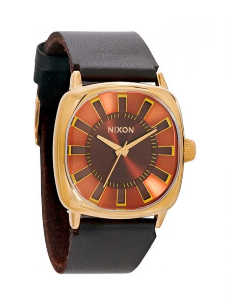 Reloj Nixon Revolver All Gold Brown