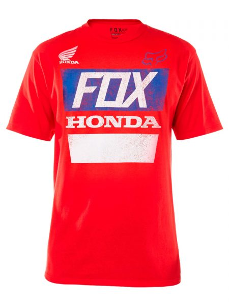 18985-003 Honda Basic Tee Red